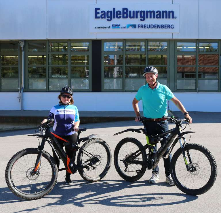 Environmentally friendly employee motivation: Bicycle leasing at EagleBurgmann